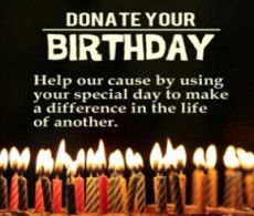 Donate Your Birthday